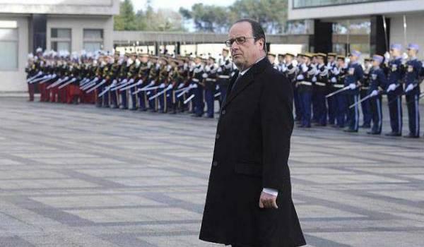 """François Hollande sur le terrorisme : """"Cette guerre, nous la gagnerons"""" !  Crédit photo : Ouest France."""