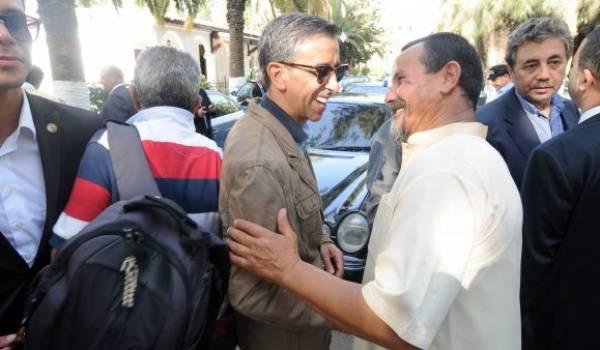 Suprême infâmie. Il y a décidément ceux qui ont déchiréé la page de l'histoire des terroristes. Ici Haddad heureux de retrouver l'ancien tôlier-terroriste.