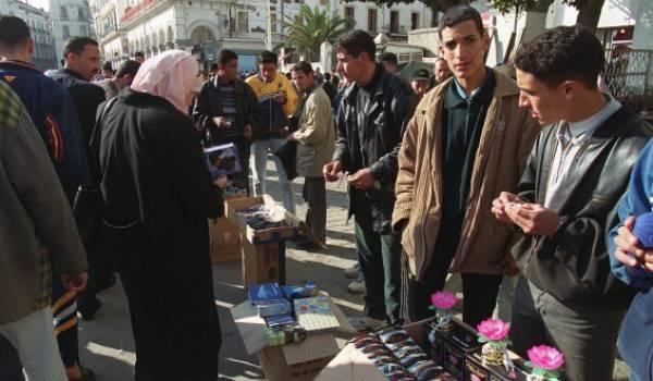 Les rues algériennes n'invitent pas à la sortie.