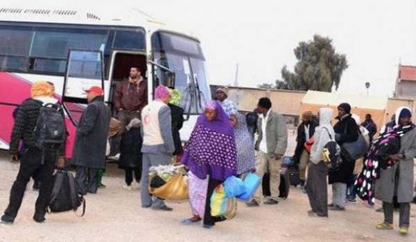 343 ressortissants nigériens conduits vers le Centre de transit de Tamanrasset