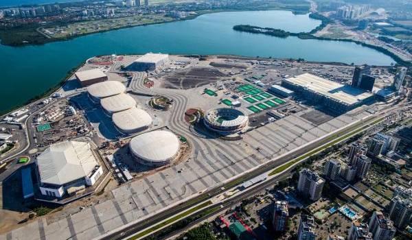 Le village olympique des JO de Rio 2016