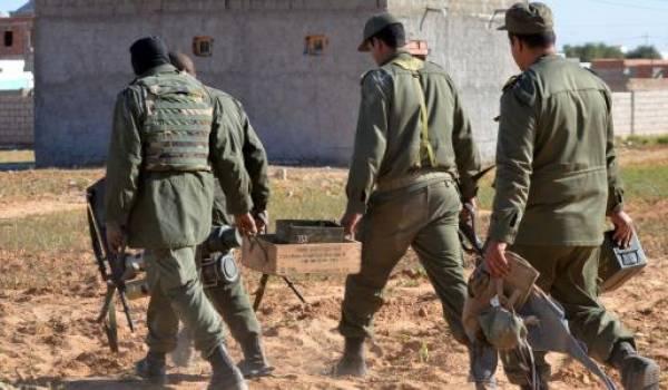 Les forces armées tunisiennes en opération