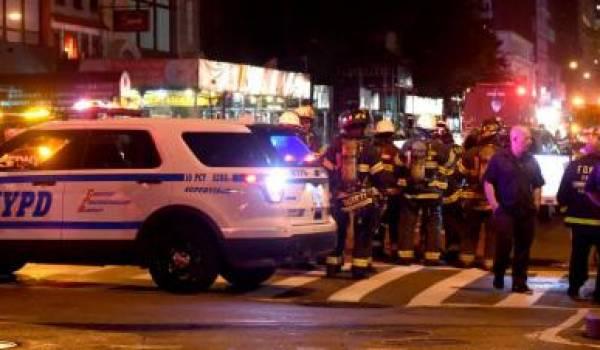 Une explosion s'est produite dans le quartier de Chelsea, à New York (Etats-Unis), samedi 17 septembre. Photo AFP