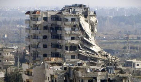La Syrie, un pays en ruine