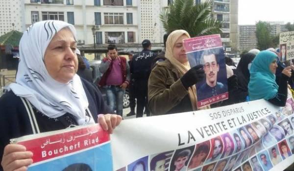 Les familles de disparus organisent jeudi matin un sit-in devant l'APN à Alger