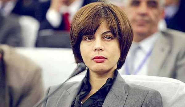 Houda Feraoun, ministre des Postes et des technologies de l'information