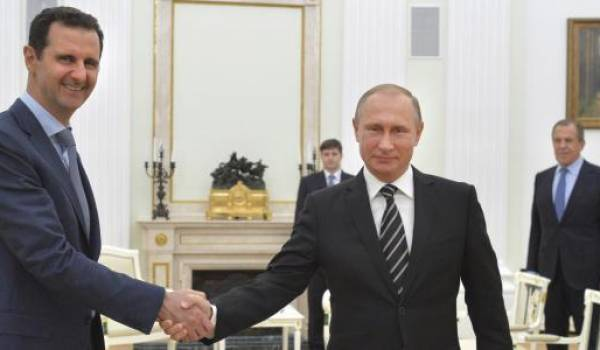 Vladimir Poutine est arrivé au bon moment pour sauver Al Assad et le régime d'une chute inévitable
