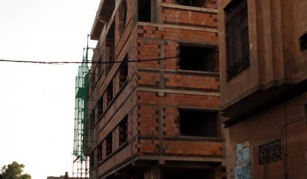 Un immeuble de la rue Othmane Nefoussi à Mostaganem.