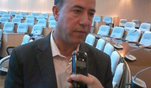 Le directeur de l'hydraulique, Abdelkrim Chebri.