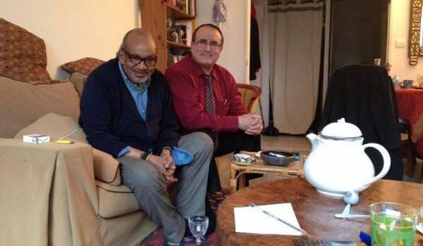 Ahmed Benani avec Ali Aït Djoudi.