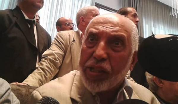 Abdelaziz Belkhadem.