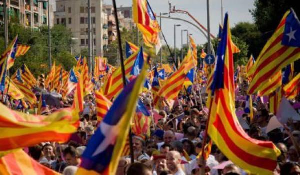 La Catalogne se bat maintenant pour son indépendance.