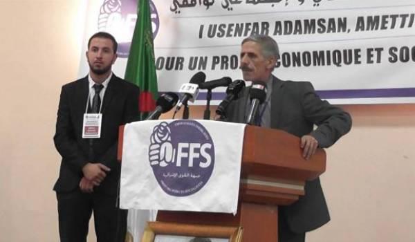 Le premier secrétaire Abdelmalek Bouchafa