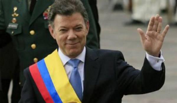 Le Nobel de la paix au président colombien Juan Manuel Santos