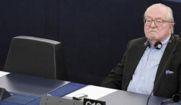 Jean-Marie Le Pen, député européen depuis 1984