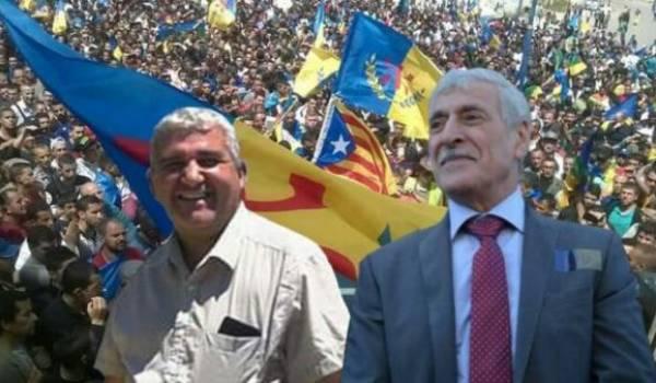 Bouaziz Aït Chebib et Ferhat Mehenni