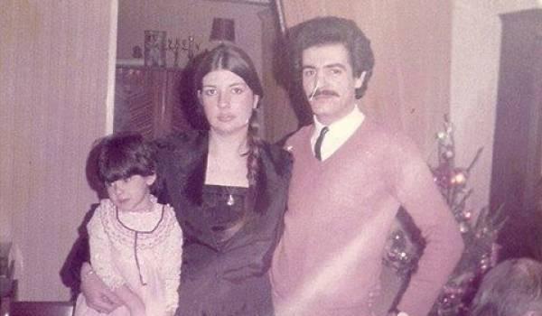 Meksa avec sa femme Nathalie et sa fille Missiva.