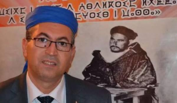 Rachid Raha, président de l'Assemblée mondiale amazighe.