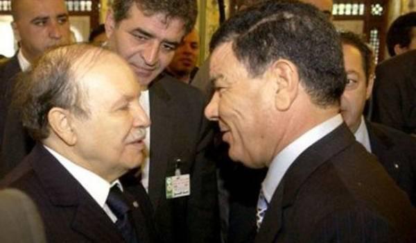 Bouteflika et Amar Saadani.