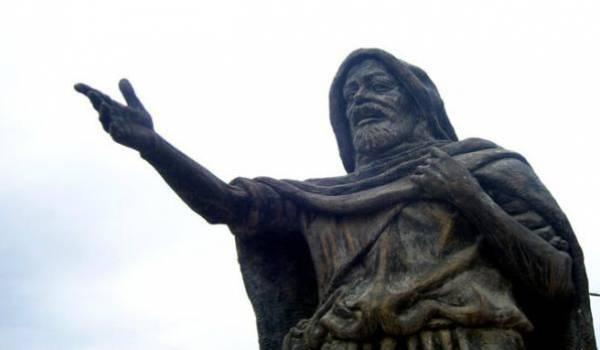 Statue de Si Mohand U Mhand.