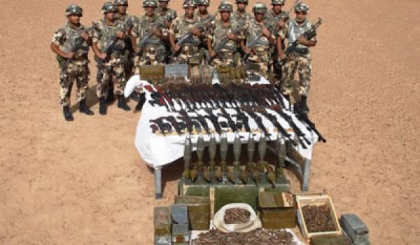 Un important arsenal découvert à Tamanrasset dimanche dernier.