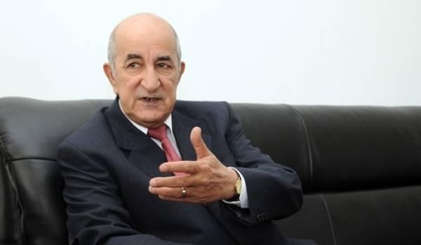 Abdelmadjid Tebboune, ministre de l'Habitat.