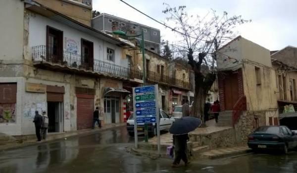 Ain El Hammam. La tentative d'enlèvement a eu lieu à la sortie sud est de la ville.