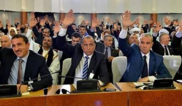 Des députés grassement rémunérés pour lever la main et avaliser les décisions du clan au pouvoir.