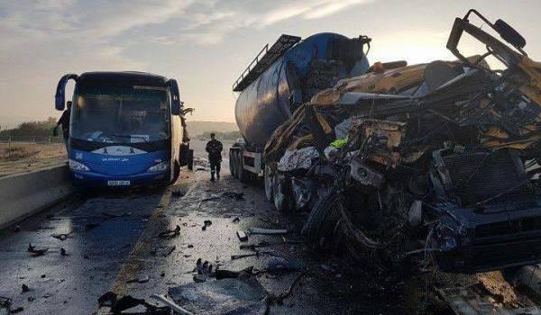Macabres routes algériennes.