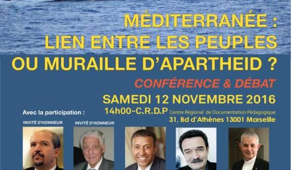 La Méditerranée au coeur des débats de l'Ufac samedi à Marseille