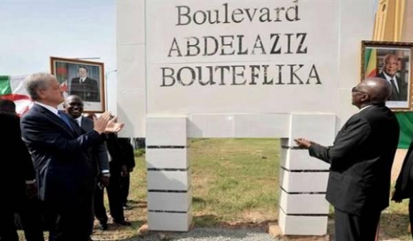 Vu ses dimensions aucun Malien ne risque de rater le nom du boulevard.