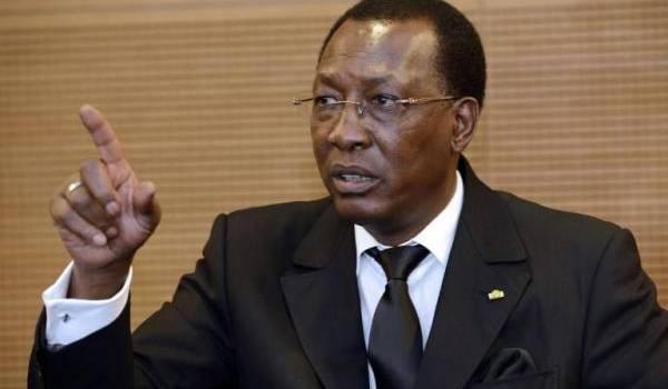 Idriss Déby règne en potentat sur le Tchad depuis 1990.