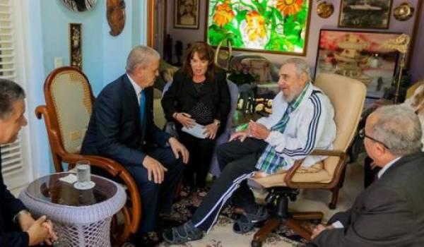 Abdelmalek Sellal a rendu visite récemment à Fidel Castro.