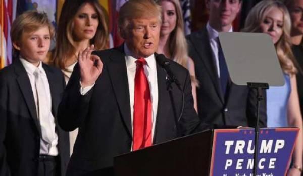 Donald Trump, 45e président des USA et populiste à souhait.