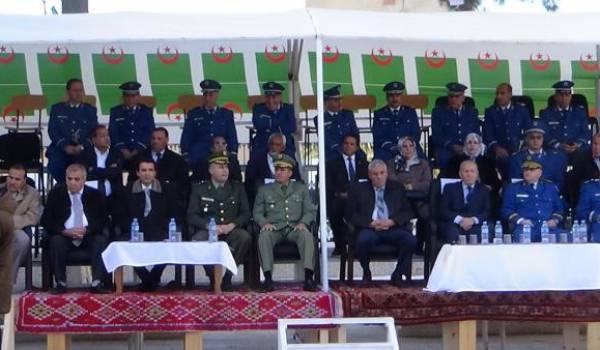 Rencontre de la police nationale à Batna.