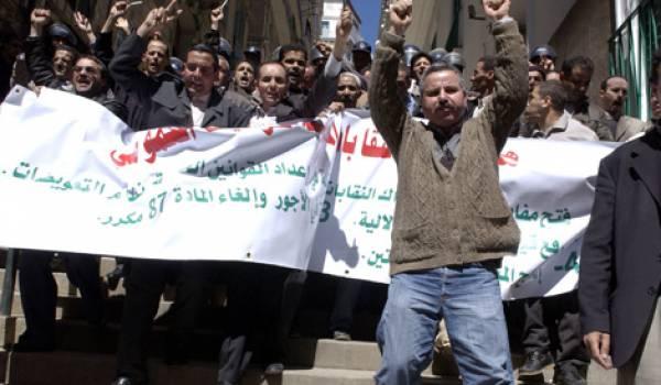 Les enseignants des lycées d'Algérie s'alarment des manipulations dont ils sont la cible.