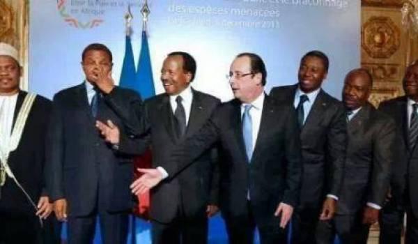 La Françafrique continue au profit de la France qui soutient les potentats et prédateurs africains.