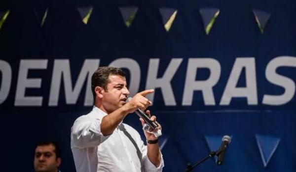 Le co-leader du parti démocratique pro-kurde (HDP) Selahattin Demirtas a été placé en garde à vue. Photo AFP