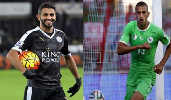 Mahrez et Slimani parmi les finalistes