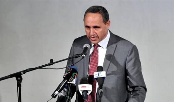 Le ministre de la culture, Azzedine Mihoubi