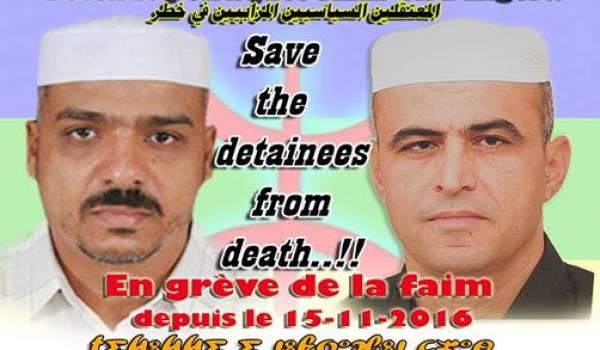 Deux détenus Mozabites
