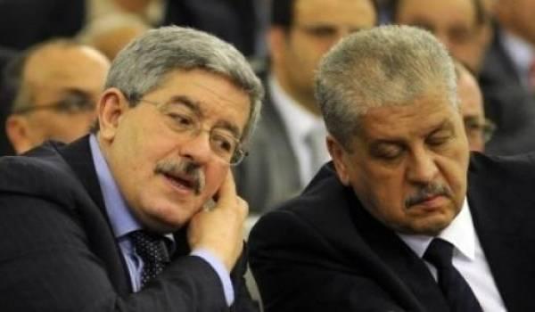 Ouyahia et Sellal.
