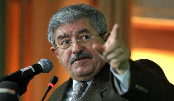 Le doigt vindicatif d'Ahmed Ouyahia