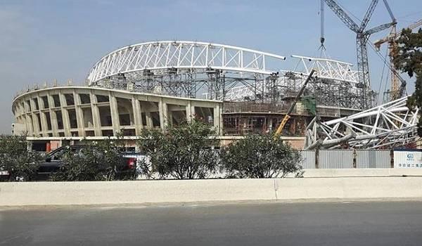 Stade de Baraki.