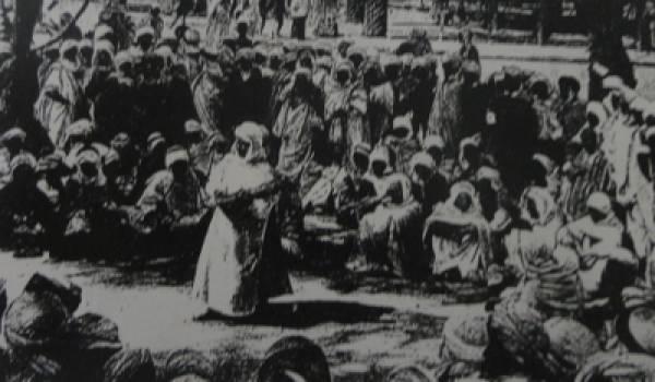 Une halqa traditionnelle.