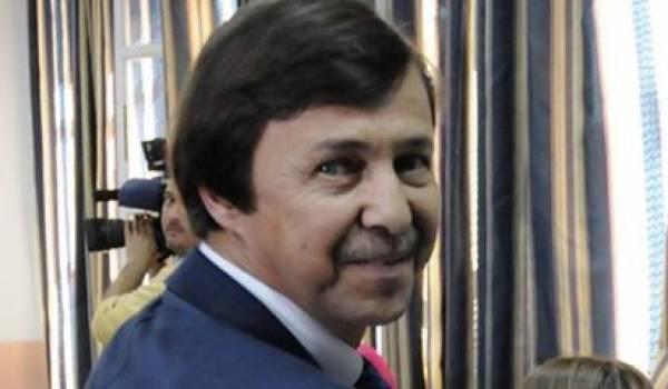 Saïd Bouteflika, l'influent frère et conseiller du président.