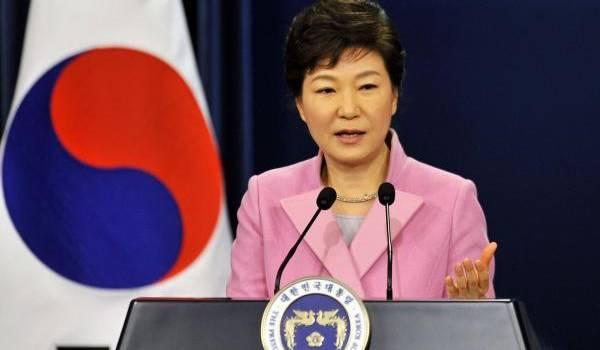 La présidente de la Corée du Sud, Park Geun-Hye, au coeur d'un scandale.