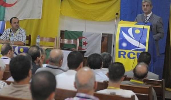 Mohcinee Belabbas, président du RCD.
