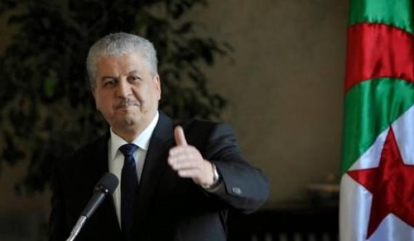Abdelmalek Sellal ignore la crise.