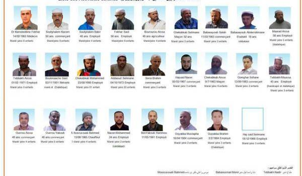 Des dizaines de détenus mozabites emprisonnés.